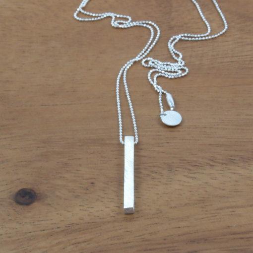 """""""Moonlight"""" halskæde i sølv"""