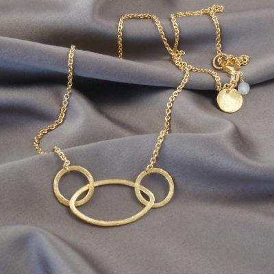 """Rosemary"" -Halskæde i guld"
