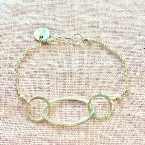 Rosemary -armbånd i sølv, håndlavede smykker -by Nina Skat - Foto