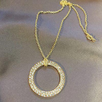 Loveable -halskæde med krystallerLoveable -halskæde med krystaller