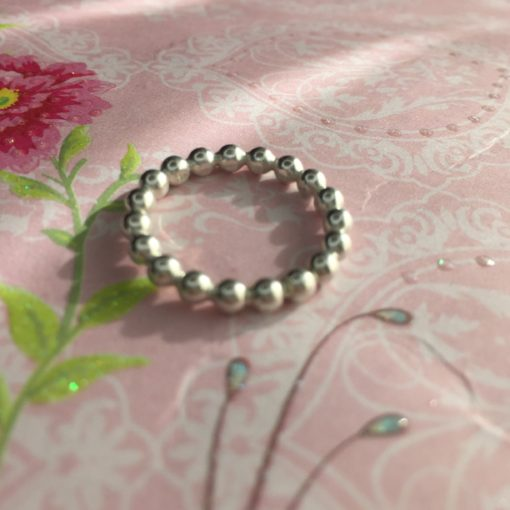 "Ring i sølv, ""Filippa"" -Foto"