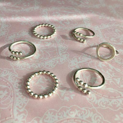 Ring i sølv -Foto