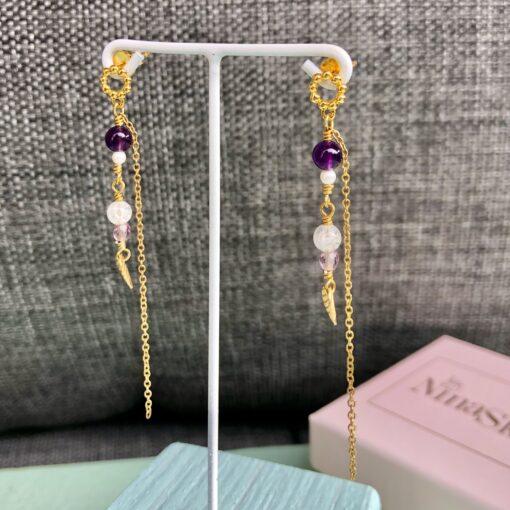 """""""Lavender"""" Øreringe"""