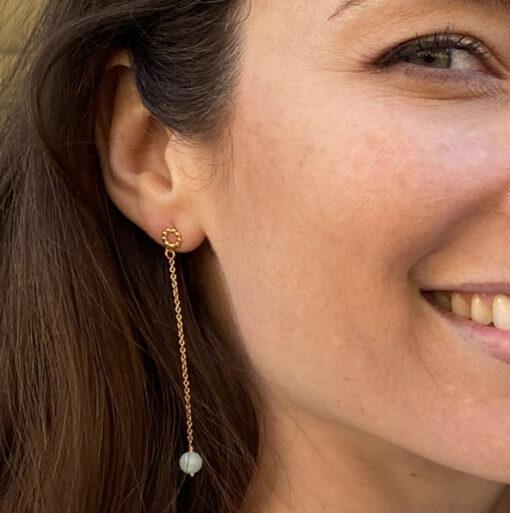 Øreringe, Blue dot