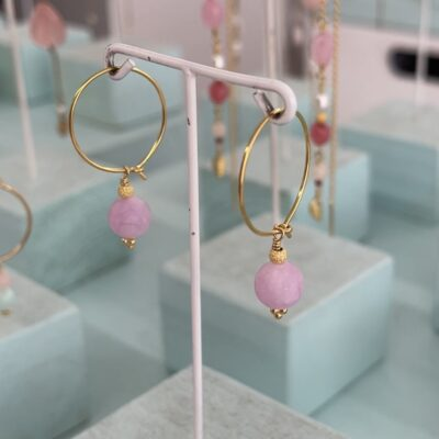 Øreringe, Sweet Lilacs, hoops